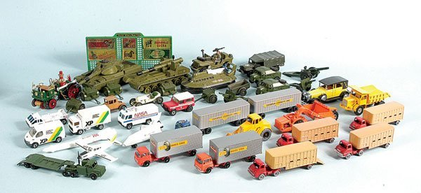 8: Matchbox, Dinky, Solido - A Group of Unboxed