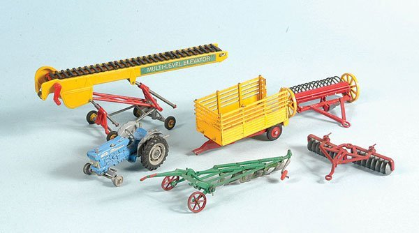 10: A Group of Unboxed Farm Items