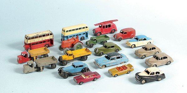 12: Dinky Toys - A Mixed Group of Unboxed
