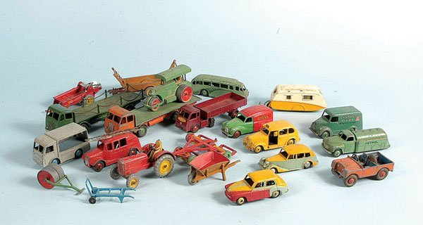 14: Dinky Toys - A Mixed Group of Unboxed