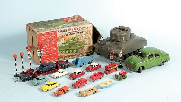 15: Triang, Matchbox, Dinky - A Mixed Group