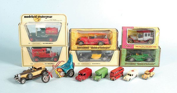 16: A Group of Boxed and Unboxed Matchbox