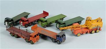 126: Dinky Toys Unboxed Foden Lorries