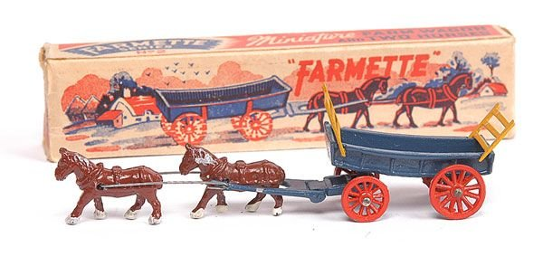700: Moko Farmette Series No.2 Horsedrawn Farm Wagon