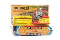 1289 Linemar Toys Robot Bulldozer