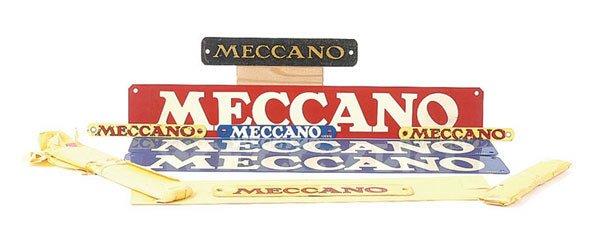 3002: Meccano - A Quantity of Signs