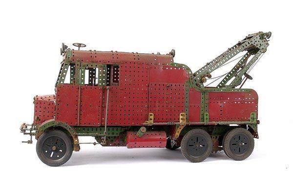 3007: Meccano Special Leaflet Model Breakdown Truck