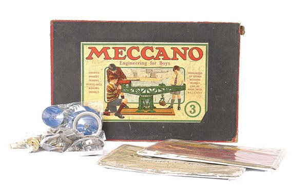 3009: Meccano 1920's Outfit No.3