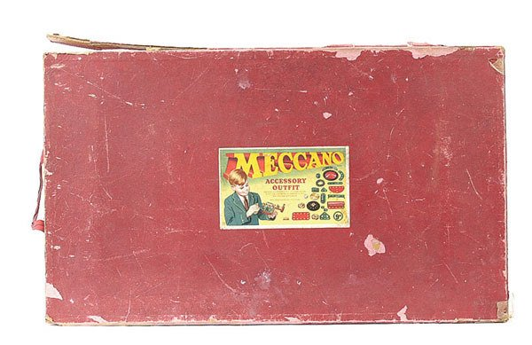 3018: Meccano Empty Box for a 1950's Outfit No.9A