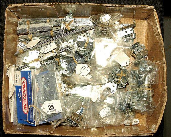 3023: Meccano Silver Components