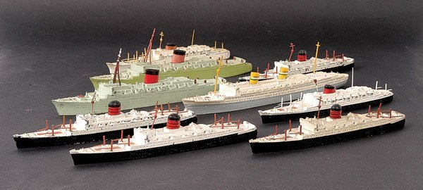 2: Minic Ships - A Group of 9 Unboxed