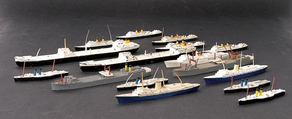 4: Minic Ships - A Group of Unboxed