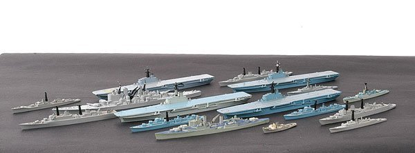 5: Minic Ships - A Quantity of Warships