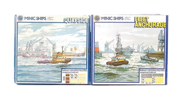 13: Minic Ships (Hong Kong) Ocean Terminal Set