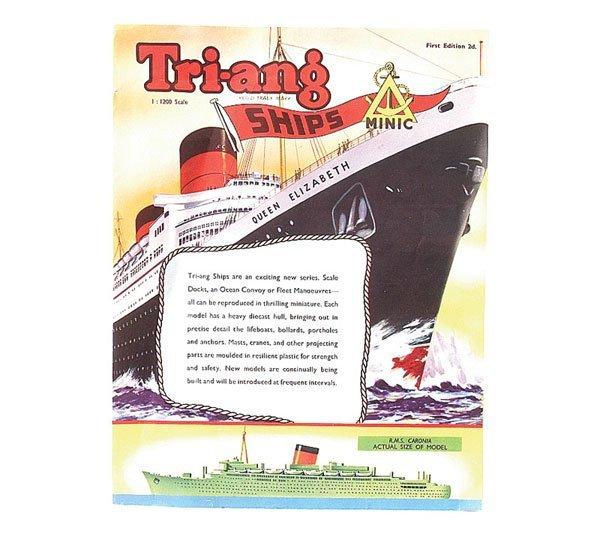 14: Minic Ships 1st Edition Catalogue