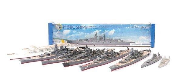 17: Minic Ships (Hong Kong) M742 KM Bismarck