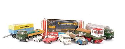 46 A Group of Tekno Trucks