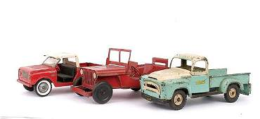 50: Structo, Tru-scale & Other Steel Pick-up Trucks