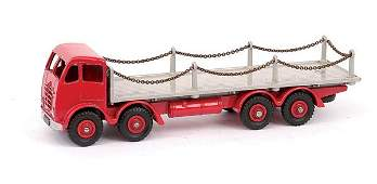 641: Dinky Foden Flat Truck with Chains