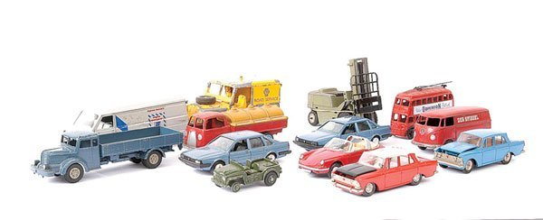 715: A Group of Marklin & Other Diecast Vehicles