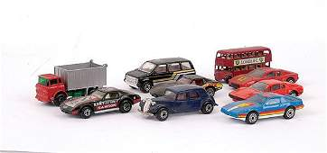 724: A Large Group of Matchbox 1-75 Vehicles