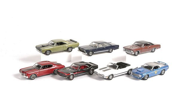 1001: Matchbox MOY - A Group of American Muscle Cars
