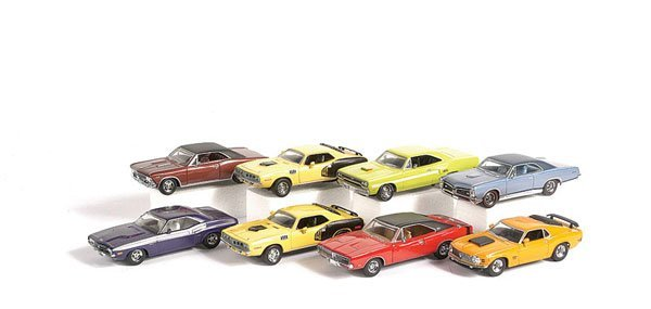 1002: Matchbox MOY - A Group of American Muscle Cars
