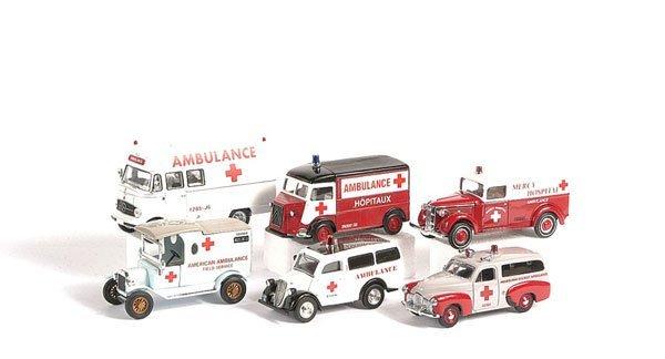 1010: Matchbox MOY International Red Cross Collection