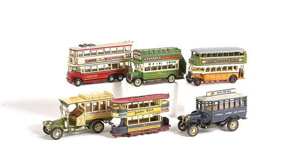 1011: Matchbox MOY Trolleys, Trams & Buses Collection