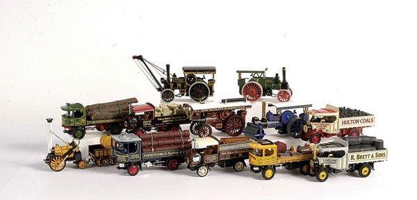 """1013: Matchbox MOY """"Steam Powered Vehicles"""""""