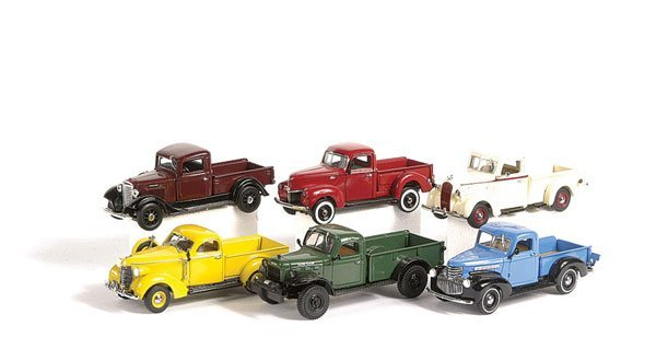 1016: Matchbox MOY The 30's & 40's Pick-up Collection