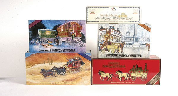 1020: Matchbox MOY Horsedrawn Limited Editions