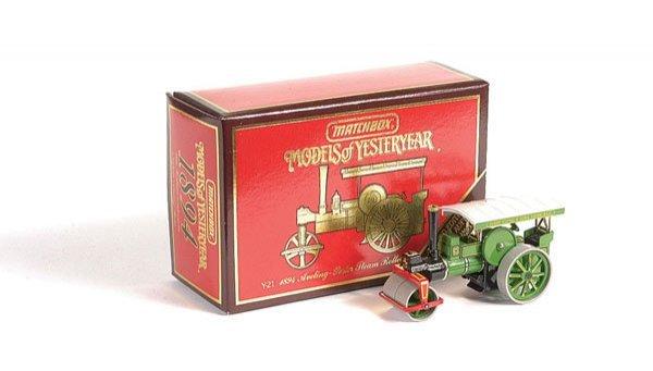 1024: Matchbox MOY Y21 Aveling & Porter Steam Roller