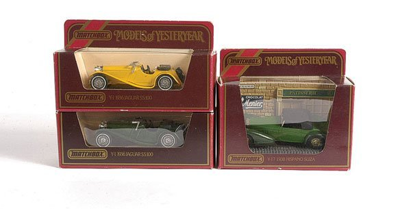 1060: Matchbox MOY - A Group of Cars
