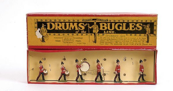 2001: Britains - Set 30 - Drums & Bugles post war