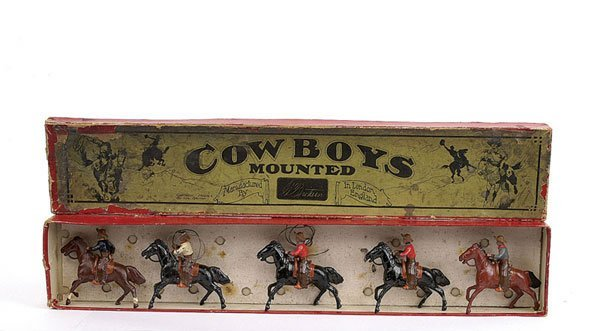 2002: Britains - Set 179 - Mtd Cowboys - 1913 version