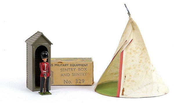 2006: Britains-Set 2002-Bell Tent with 4.5 inch base