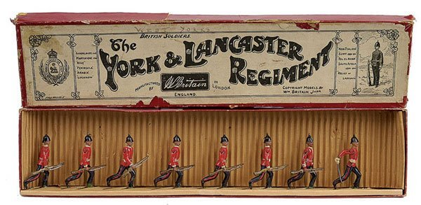 2007: Britains - Set 96 - York & Lancaster Regt