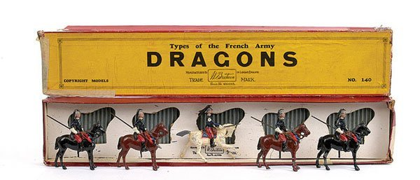2009: Britains Set 140 - French Dragoons