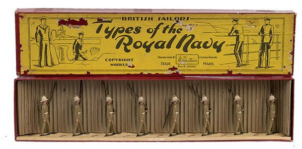 2012: Britains set1619-Royal Marines-Tropical Dress