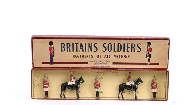 2017: Britains - Set 2029 - The Life Guards-sentries