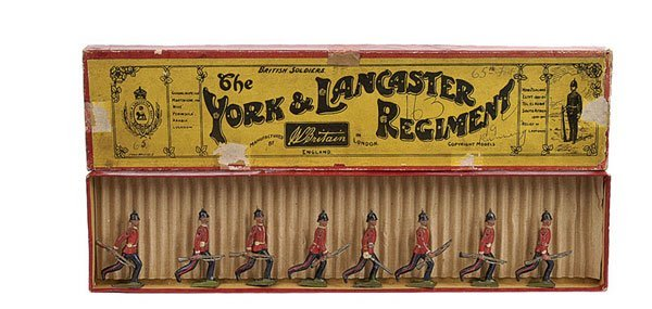 2019: Britains - Set 96 - York & Lancaster Regiment