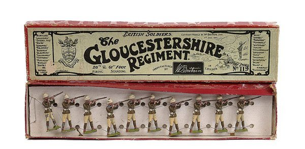 2021: Britains - Set 119 - Gloucestershire Regiment