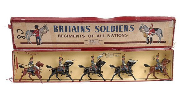 2023: Britains - Set 217 - Argentine Cavalry