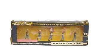 2183 BritainsEyes Right Set 7466US Marines