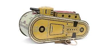 2826: Marx Toys of the USA - WWI Type tinplate Tank
