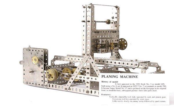 4002: Meccano Planing Machine