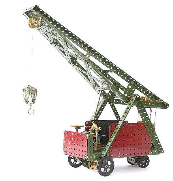 4003: Meccano Mobile Crane