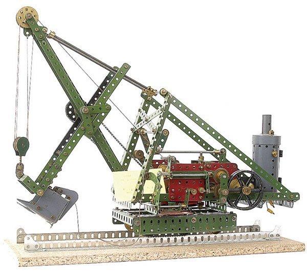 4004: Meccano Steam Driven Mechanical Digger