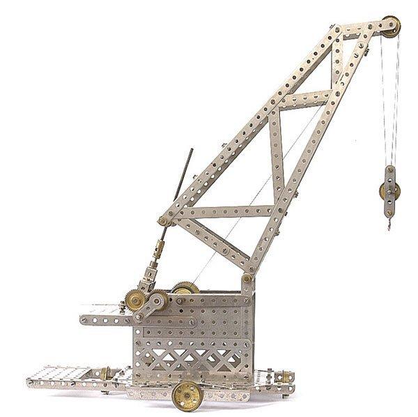 4012: Meccano Mobile Luffing Crane